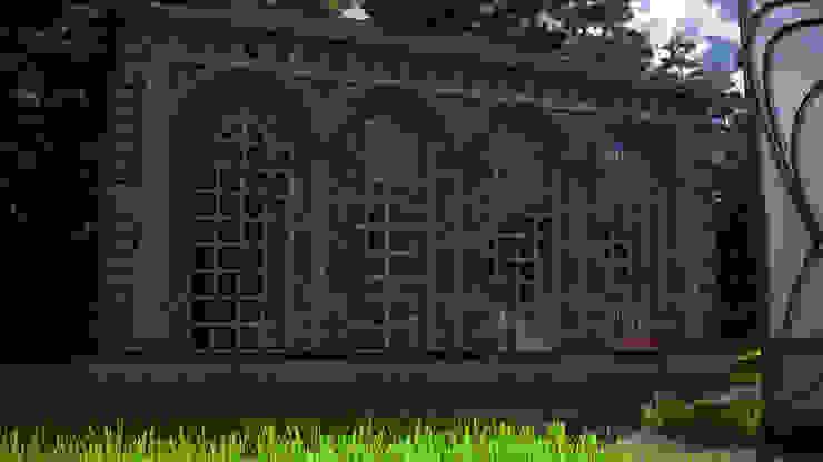 Marble House Сад в классическом стиле от SVPREMVS Классический