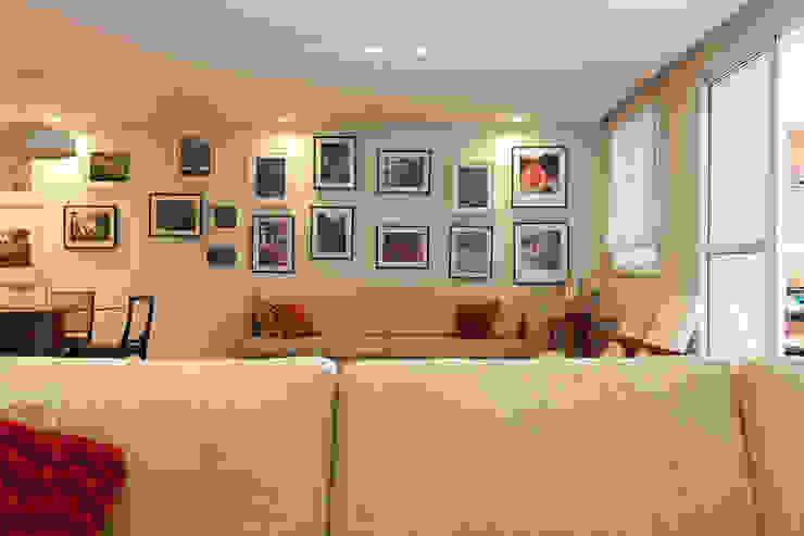 Apartamento Pinheiros Salas de estar modernas por Arquitetura Juliana Fabrizzi Moderno