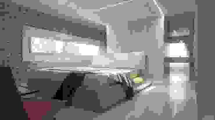 Visualisations 3d JIGEN Chambre moderne