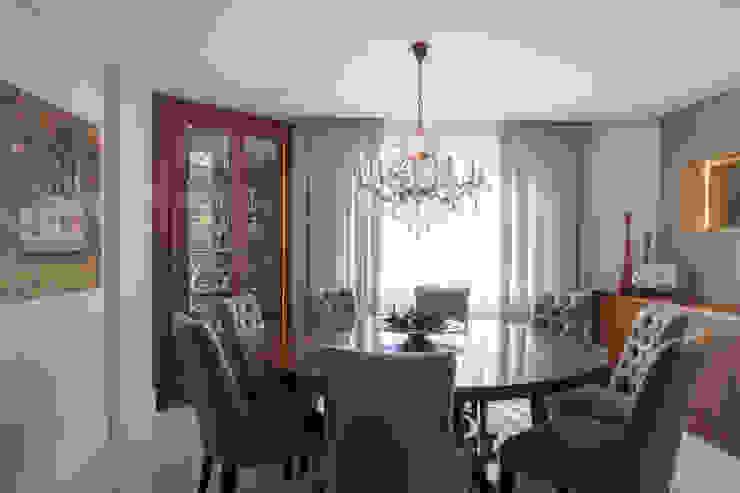 Ruang Makan Modern Oleh Arquitetura 8 - Ana Spagnuolo & Marcos Ribeiro Modern