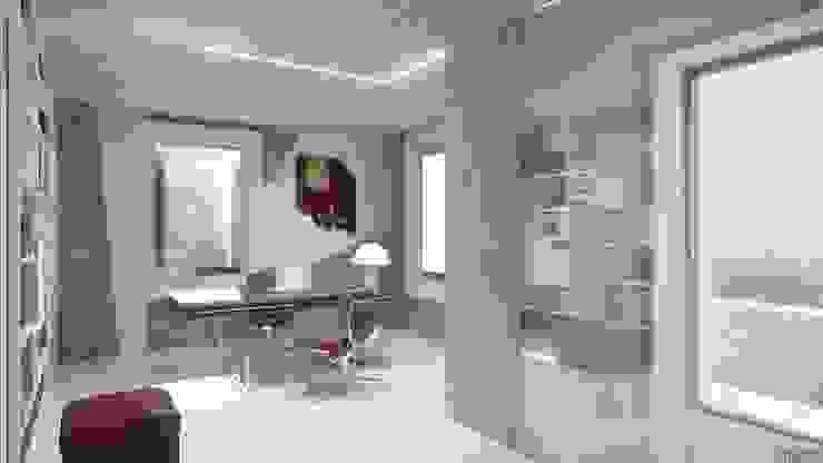 Visualisations 3d JIGEN Bureau moderne