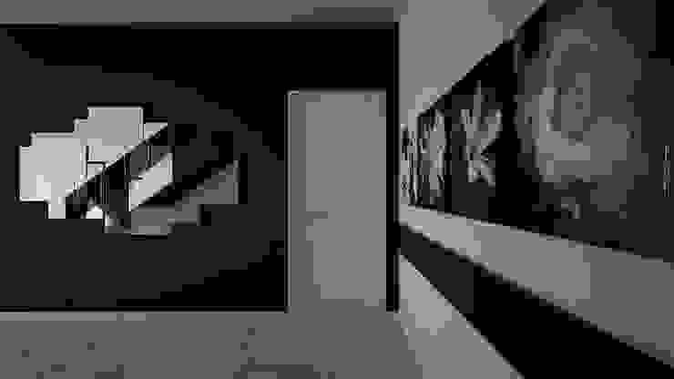 Minimalism Коридор, прихожая и лестница в стиле минимализм от SVPREMVS Минимализм