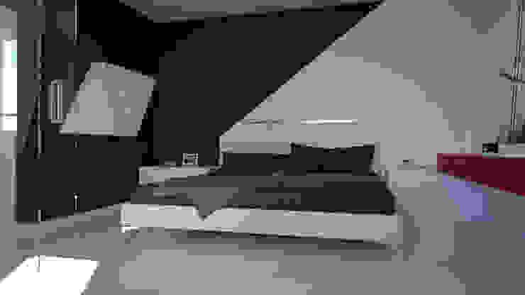 Dormitorios minimalistas de SVPREMVS Minimalista