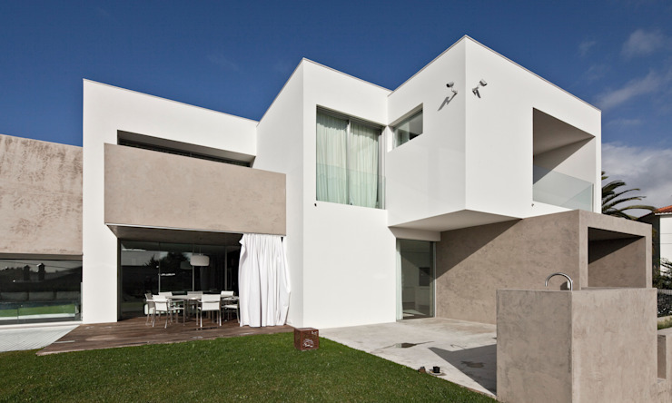Houses by Areacor, Projectos e Interiores Lda, Minimalist