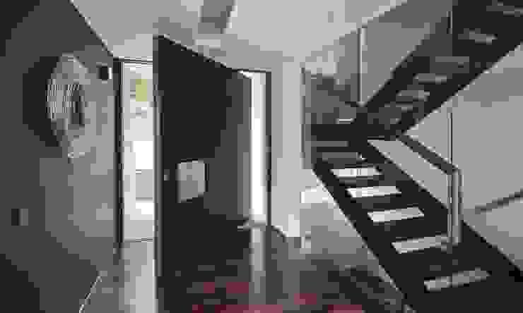 Minimalist corridor, hallway & stairs by Areacor, Projectos e Interiores Lda Minimalist