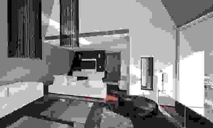 Casa Birre 3 Salas de estar minimalistas por Areacor, Projectos e Interiores Lda Minimalista