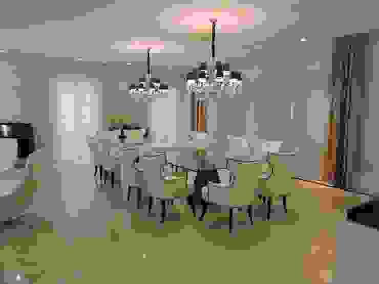 Sala de Jantar: Salas de jantar  por PL ARQUITETURA