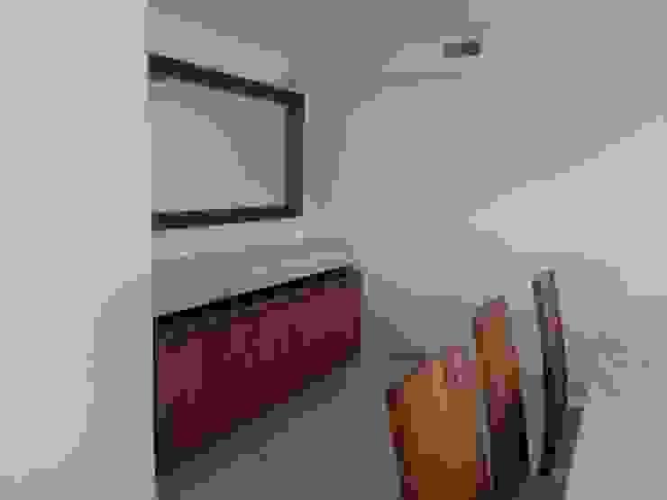 Buffet con cubierta en pergamino de ARMONIC stone & wood design Moderno