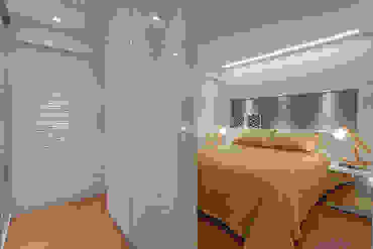 Dormitorios de estilo  de Carmen Calixto Arquitetura, Moderno Tablero DM