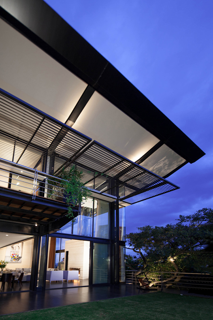 Casas La Punta Casas minimalistas de grupoarquitectura Minimalista