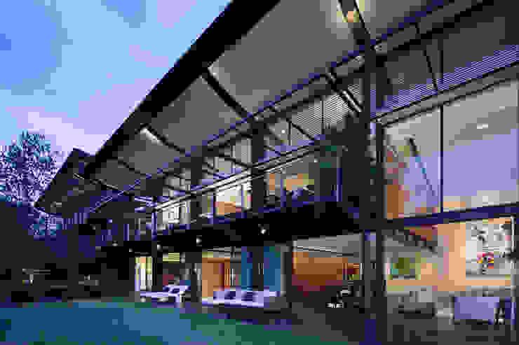 Casas La Punta Jardines de estilo minimalista de grupoarquitectura Minimalista