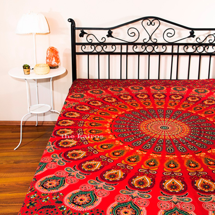 eclectic  by THE KAIROS, Eclectic Cotton Red