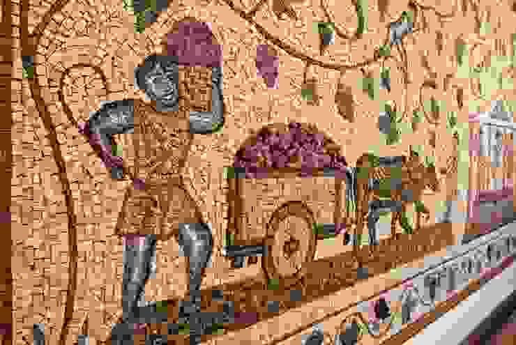 Paineis em mosaico Adegas clássicas por Mosaico Leonardo Posenato Clássico