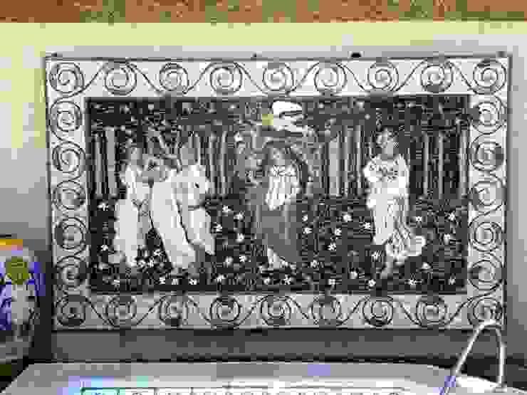 Paineis em mosaico Varandas, alpendres e terraços clássicos por Mosaico Leonardo Posenato Clássico