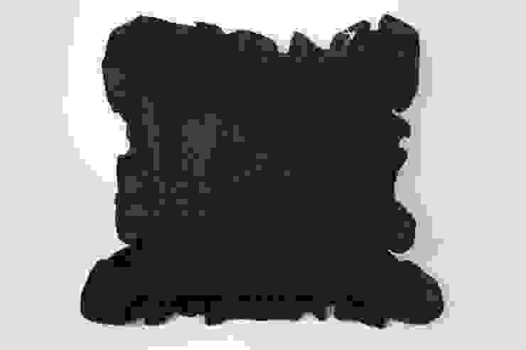 Czarna poduszka dekoracyjna od Styl i Wnętrze Eklektyczny Bawełna Czerwony