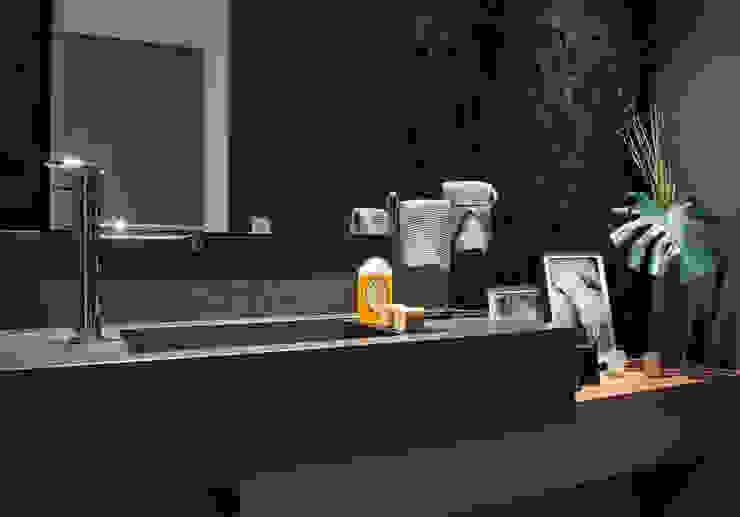 Apartamento PH Banheiros modernos por Ricardo Cavichioni Arquitetura Moderno