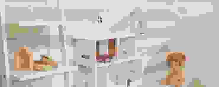 Domek dla lalek - projekt indywidualny od MyWoodVillage Skandynawski Drewno O efekcie drewna