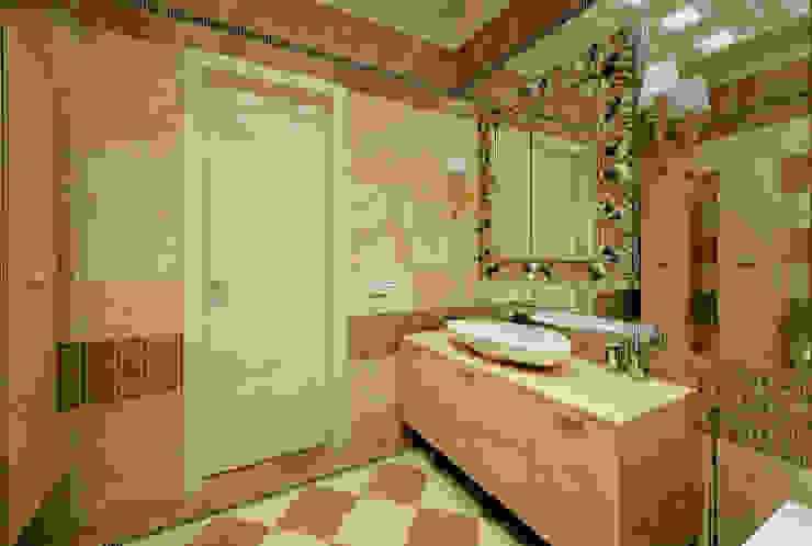Ванная комната в квартире на Якиманке Ванная в классическом стиле от Дизайн-студия «ARTof3L» Классический