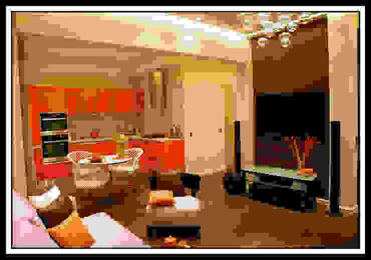 Гостиная в квартире на Тверской Кухня в классическом стиле от Дизайн-студия «ARTof3L» Классический