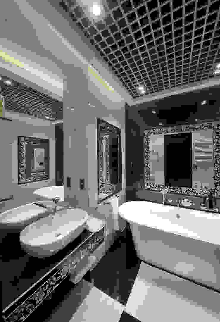 Ванная комната в квартире на Смоленской Ванная комната в стиле модерн от Дизайн-студия «ARTof3L» Модерн