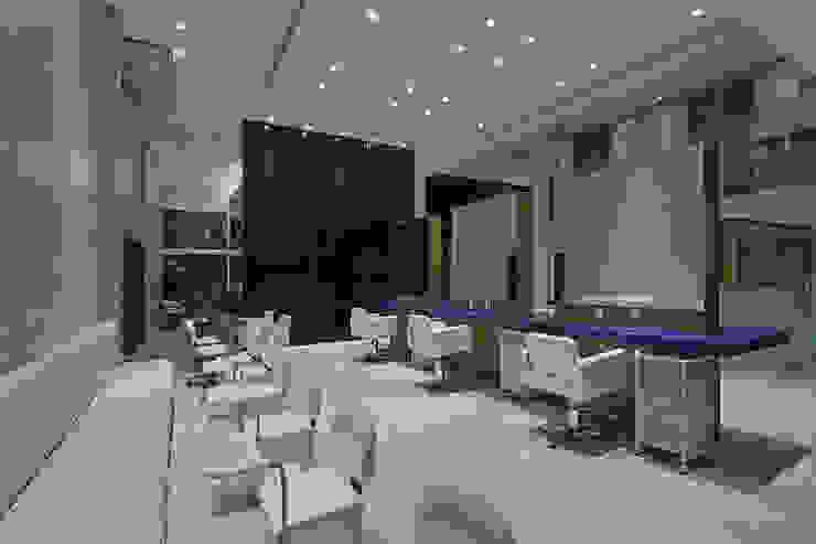 Salão de Beleza Espaços comerciais modernos por Mariana Borges e Thaysa Godoy Moderno