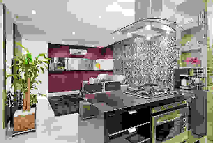 Cocinas de estilo moderno de Luciana Hara Arquitetura Moderno
