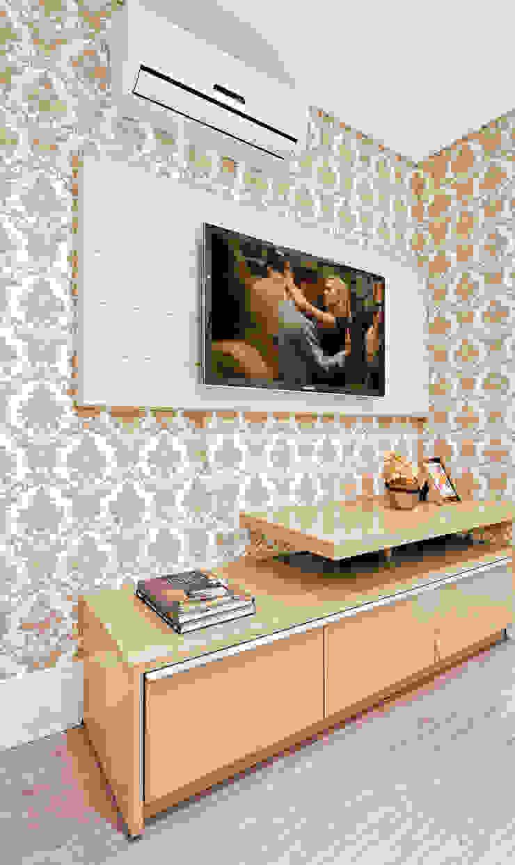 Modern style bedroom by Luciana Hara Arquitetura Modern