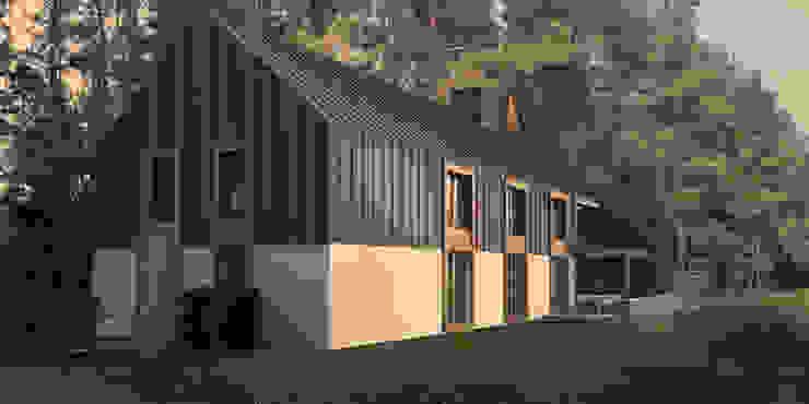 Scandinavian style houses by KOZIEJ ARCHITEKCI Scandinavian