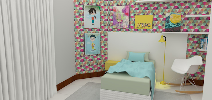 Modern Kid's Room by Arquiteto Virtual - Projetos On lIne Modern