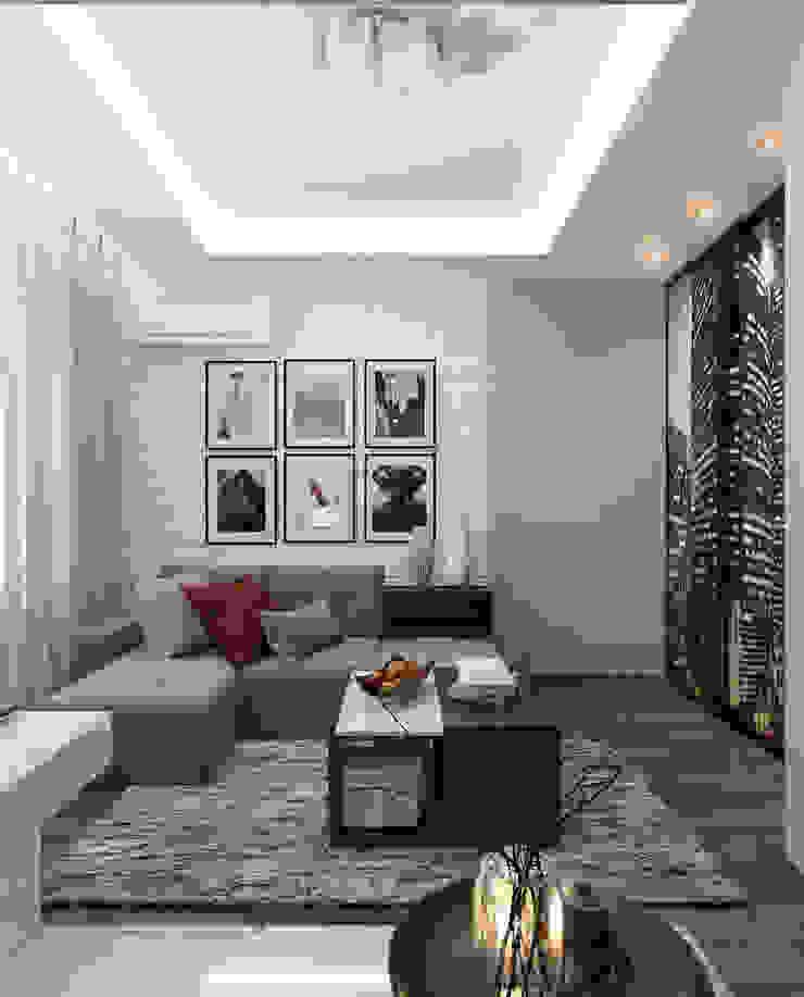 Спальня и кабинет - Интересные идеи в стиле Арт Деко Гостиная в стиле модерн от Студия дизайна Interior Design IDEAS Модерн