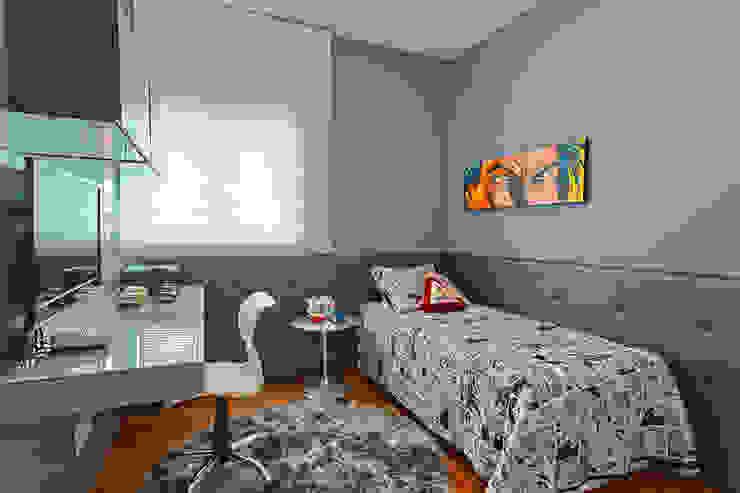 Dormitorios modernos de Mariana Borges e Thaysa Godoy Moderno