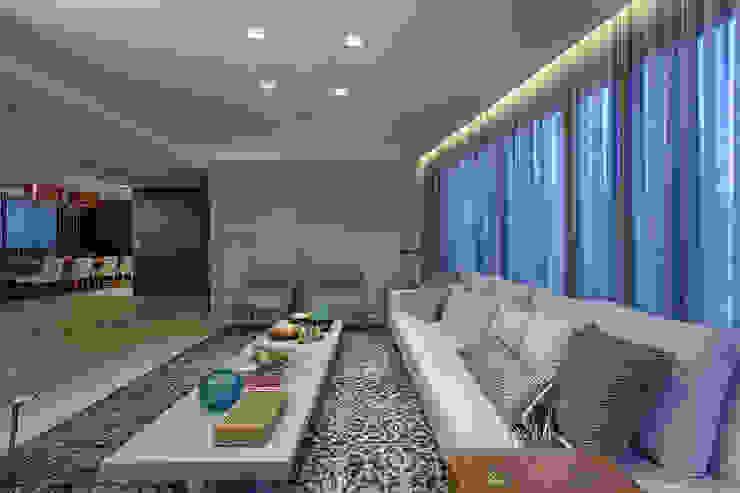 Sala de Estar Salas de estar modernas por Mariana Borges e Thaysa Godoy Moderno