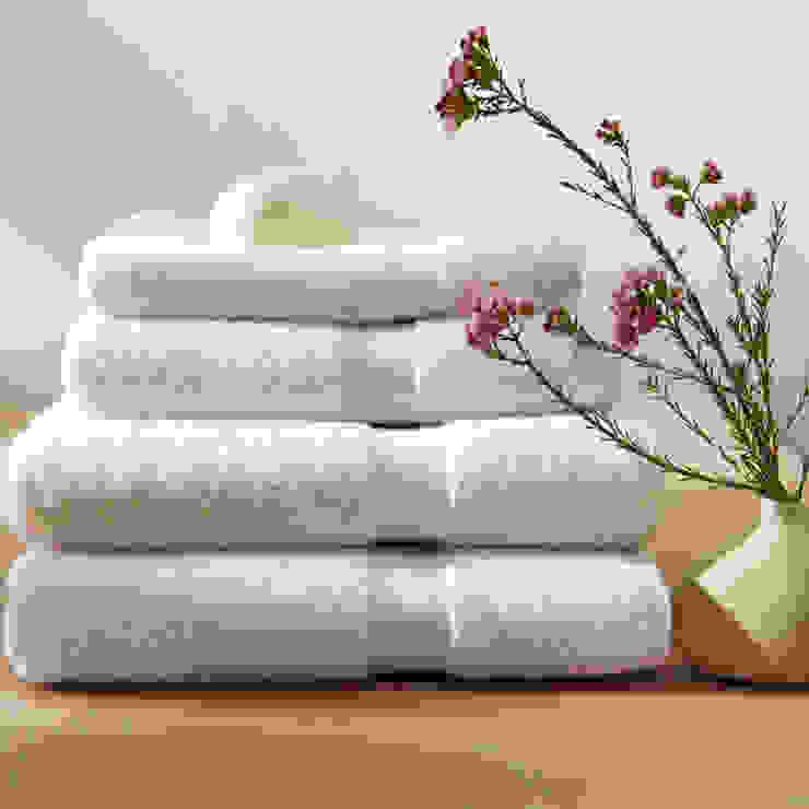 Serviettes en coton biologique commerce équitable 650 g/m King of Cotton France Salle de bainTextiles & accessoires Coton Blanc
