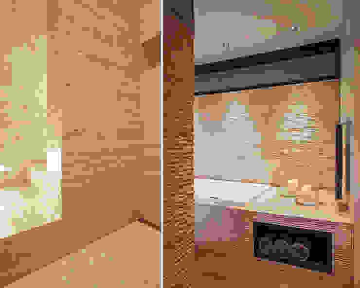 Banheiros modernos por meier architekten zürich Moderno Pedra