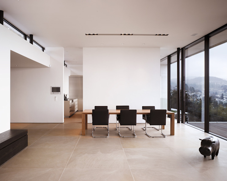 Столовая комната в . Автор – meier architekten zürich,