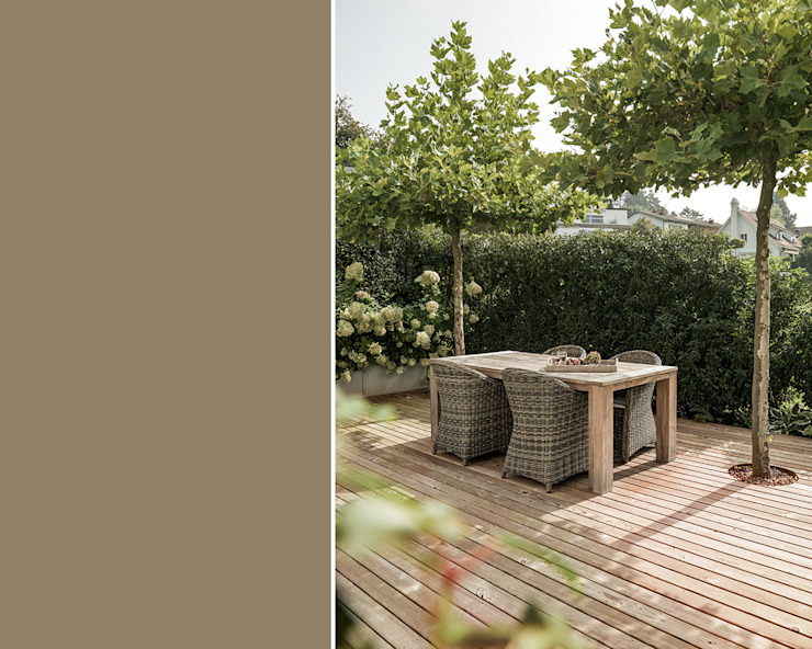 meier architekten zürich Balconies, verandas & terraces Plants & flowers