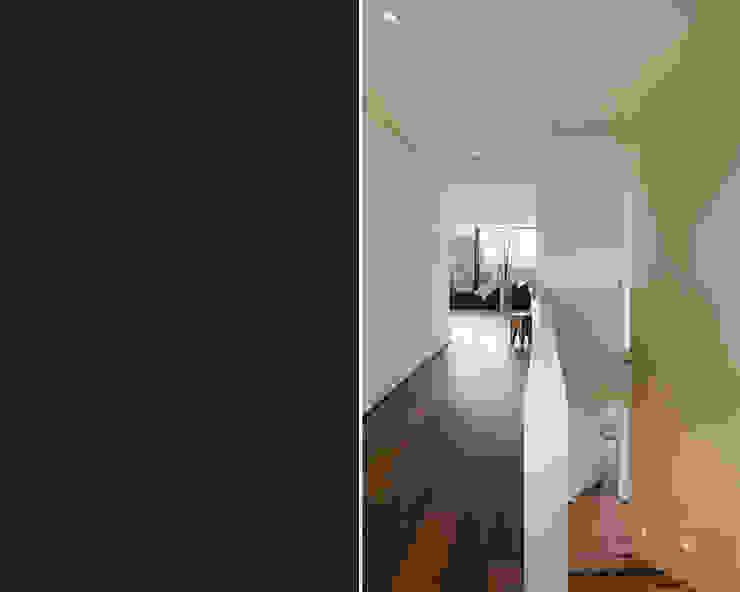 meier architekten zürich Corridor, hallway & stairs Stairs