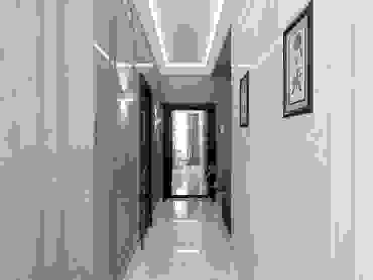 Volkovs studio Couloir, entrée, escaliers modernes