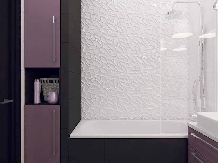 Volkovs studio Salle de bain moderne