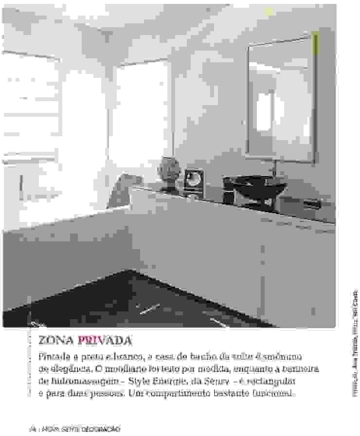 casa de banho . suite por Getin - Architecture and Interior design Moderno