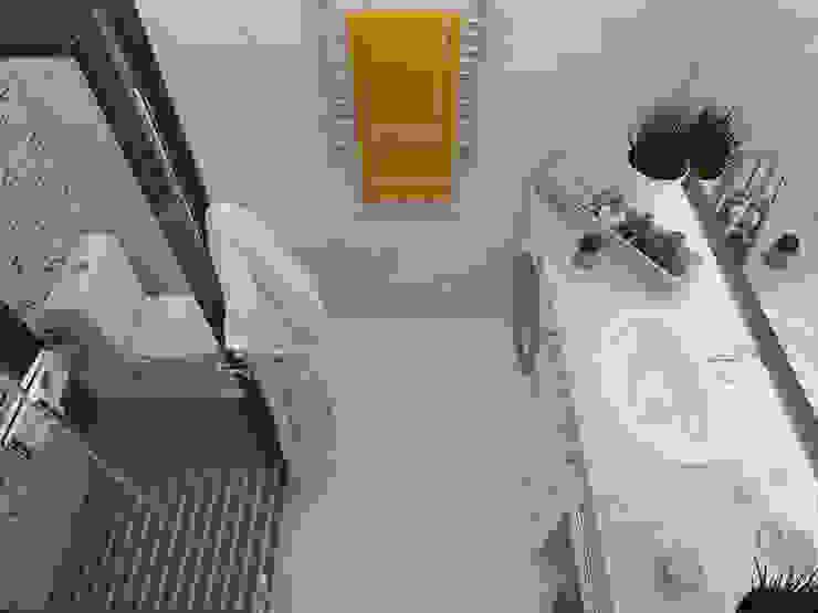 Volkovs studio Salle de bain scandinave
