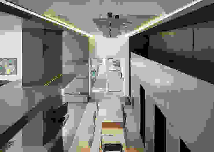 Livings de estilo moderno de arkham project Moderno