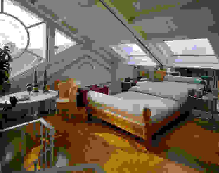 Abitazione a Brera, Milano Camera da letto moderna di VITTORIO GARATTI ARCHITETTO Moderno