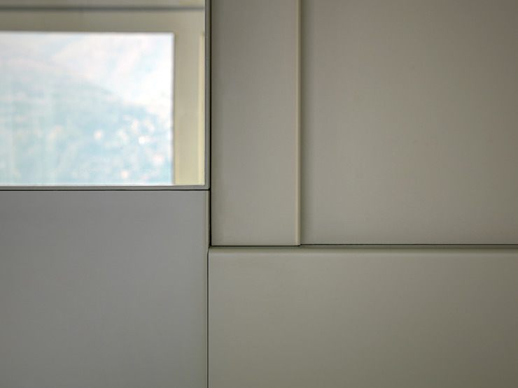 Paredes y pisos modernos de arkham project Moderno