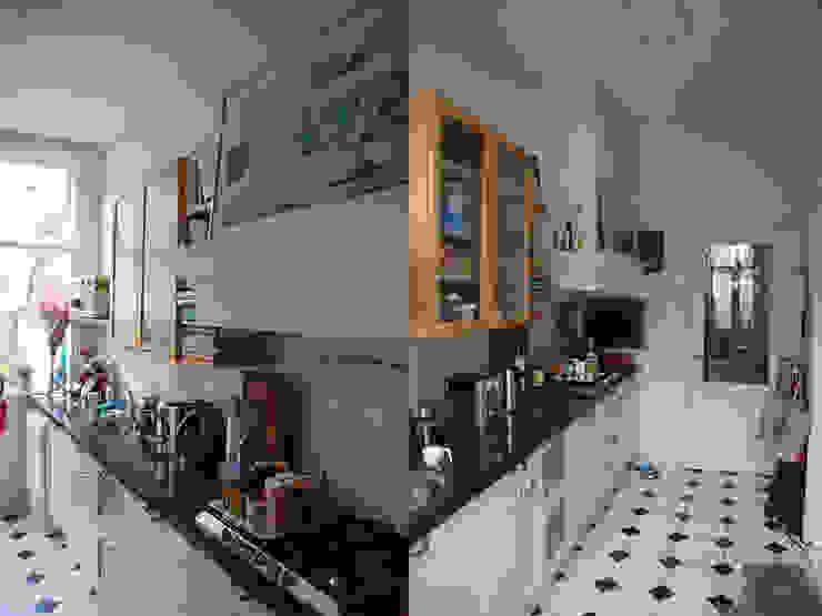 keuken voor de verbouwing van Marc Font Freide Architectuur