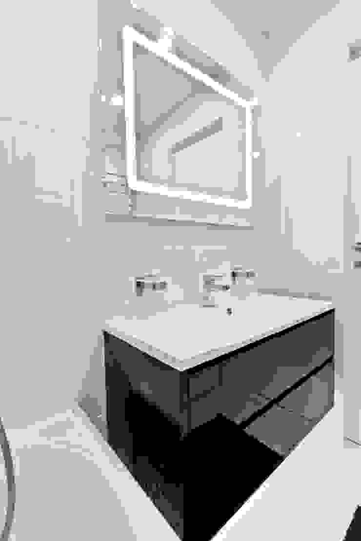 Квартира на улице Маршала Малиновского. Реализация Ванная комната в стиле минимализм от Rustem Urazmetov Минимализм