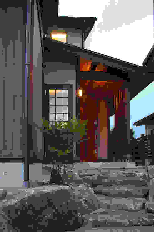 ■ Japanese Style・ジャパニーズスタイル 和風の 玄関&廊下&階段 の 株式会社アートカフェ 和風