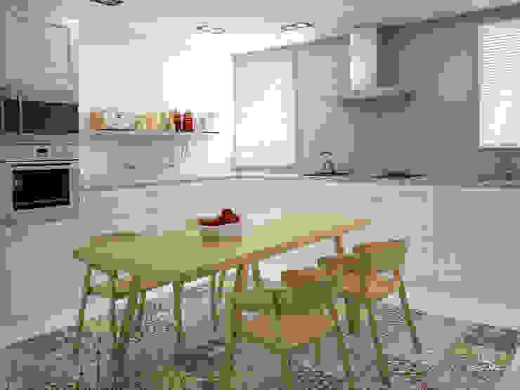 現代廚房設計點子、靈感&圖片 根據 DECLASE 現代風 陶器