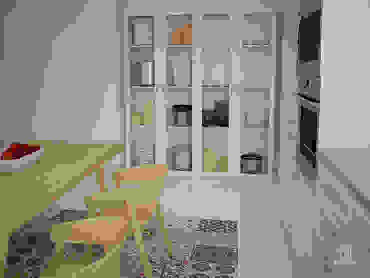 現代廚房設計點子、靈感&圖片 根據 DECLASE 現代風 複合木地板 Transparent