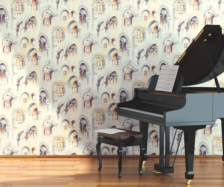 HannaHome Dekorasyon  – Bir hikayesi var...:  tarz Duvarlar, Modern